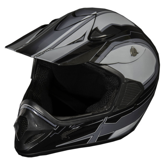 Adult Frenzy Helmet - Black Graphic