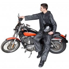 Travel Adult Emergency Travel Rain Suit - Black
