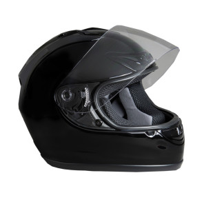 FULL FACE HELMET - GLOSS BLACK