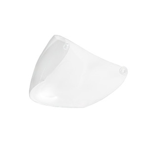 REPLACEMENT OPEN-FACE HELMET SHIELD - CLEAR (SH-WSCLEAR)